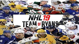 WHAT IF EVERY RYAN IN THE NHL PLAYED FOR THE SAME TEAM?