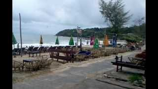 Bad weather comes to Sihanoukville, Cambodia