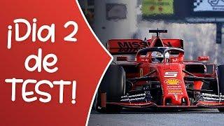 Día 2 de TEST de PRETEMPORADA F1 2019 | COMENTANDOLOS con VOSOTROS | F1 2019