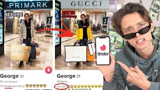I FAKED being RICH on TINDER for a whole WEEK *PHOTOSHOPPING MY TINDER* PRANK