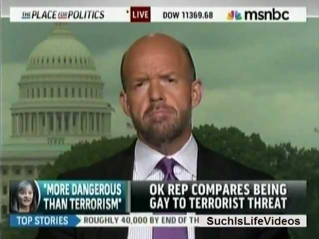 MSNBC - Rep. Sally Kern (R-OK): Homosexuals Are Worse Than Terrorists