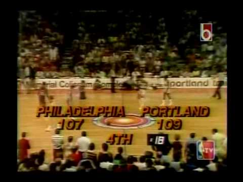 1977 NBA Finals Game 6: Blazers vs Sixers - YouTube