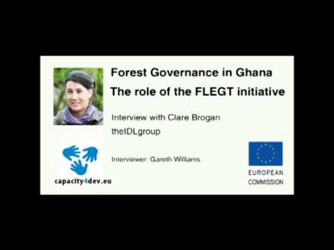 The Political Economy of Forest Governance in Ghana. The role of the EU FLEGT initiative