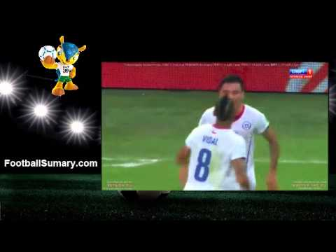 2014 World Cup Spain 0 - 2 Chile all Goals and Highlights