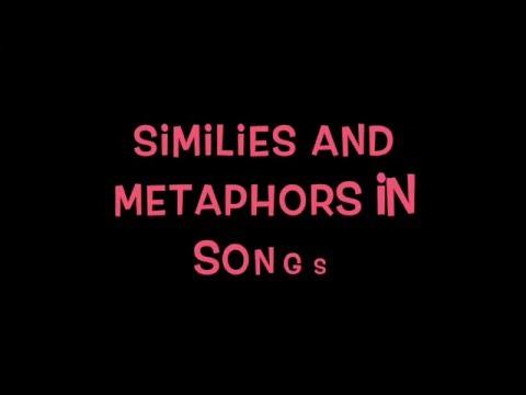 Similes and Metaphors in Songs