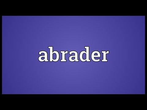 Header of Abrader