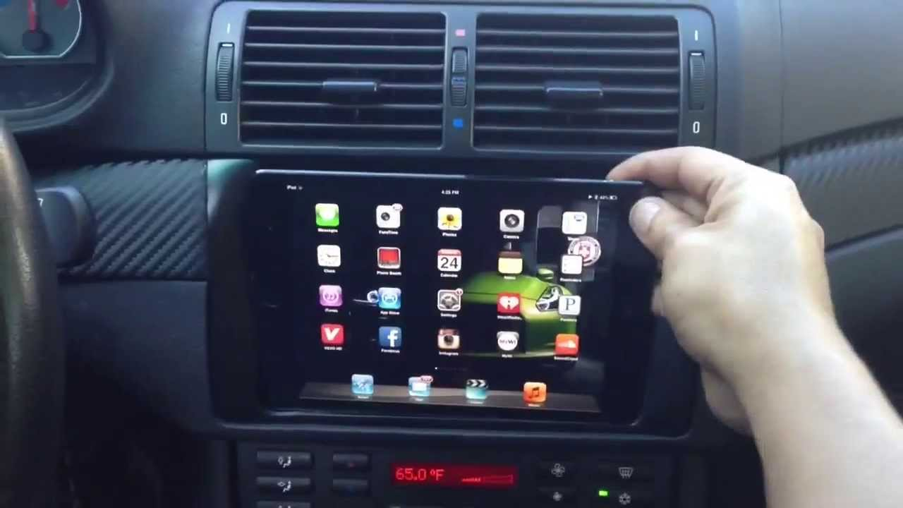 Bmw M3 E46 With Ipad Mini Install Part 2 Youtube