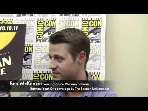 Batman: Year One Interview with Ben McKenzie