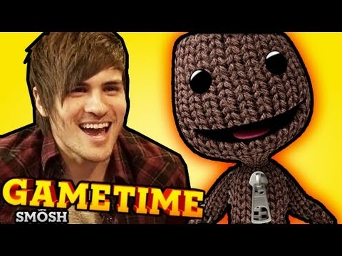 LITTLE BIG PLANET 2 (Gametime w/ Smosh)
