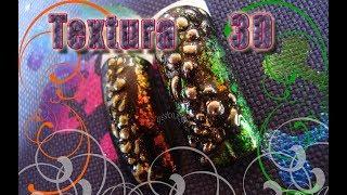 Texturas 3D - Nail Art Tutorial
