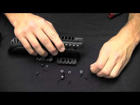 ATI Aluminum Picatinny Rails for the Tactical Forend - Installation