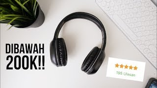 HEADPHONE WIRELESS BAGUS DIBAWAH 200RIBU!! Yoyo Bluetooth Headphone Unboxing