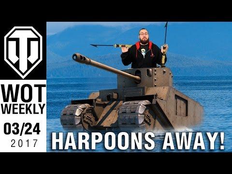 World of Tanks Weekly #4 - Harpoons Away!