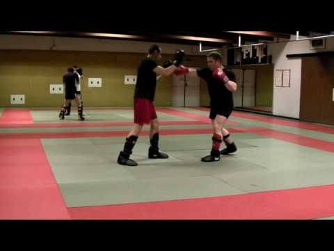 Sanshou Footwork Drill Image 1