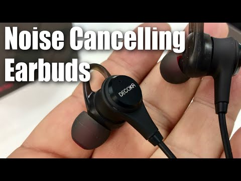 28dB Active Noise Cancelling In-Ear Wired Earbuds Headphones by DECOKA Review