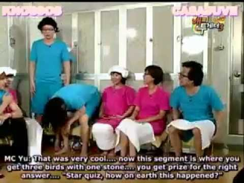 eng sub] 090226 happy together kim hyun joong, goo hye sun, kim joon 5