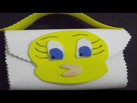 Clique e veja o vídeo Malinha Piu Piu de Borracha Eva - Curso a Distância Artesanato em Borracha EVA