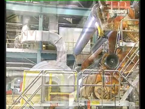 Proceso de fabricación de papel.Obtención de papel.