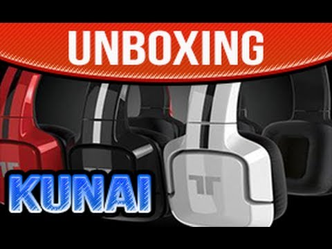 Tritton Kunai Unboxing Stereo Headset PLAYSTATION 3 & PS VITA Madcatz