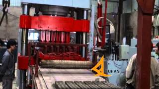 High strength hydraulic press No vibration block making machine