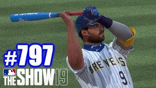 FISHING FOR DINGERS! | MLB The Show 19 | Road to the Show #797