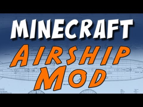 Minecraft - Zeppelin Mod (Work in Progress) Music Videos