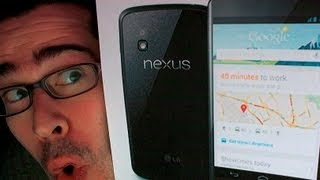 Nexus 4 Phone Unboxing & First Impressions (LIVE!)