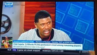 Fire alarm on set of ESPN show Get Up