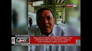 QRT: Palasyo: Mali ang paggamit ng oposisyon kay Sereno laban kay Pangulong Duterte