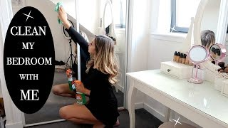 POWER HOUR | CLEAN WITH ME//EXTREME BEDROOM CLEAN IN 2019
