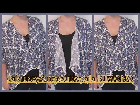 Jak Uszyć Narzutkę Ala Kimono Z 1 Metra Materiału