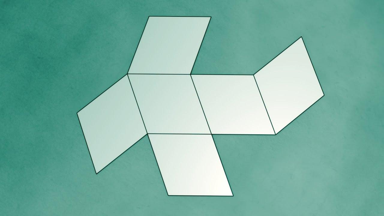Как сделать объемный призму из бумаги