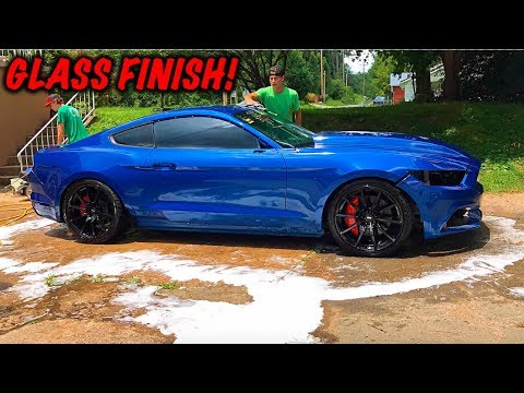 Rebuilding A Wrecked 2017 Mustang GT Part 15