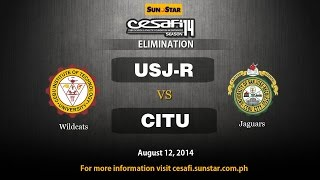 CITU vs. USJR - College - August 12, 2014
