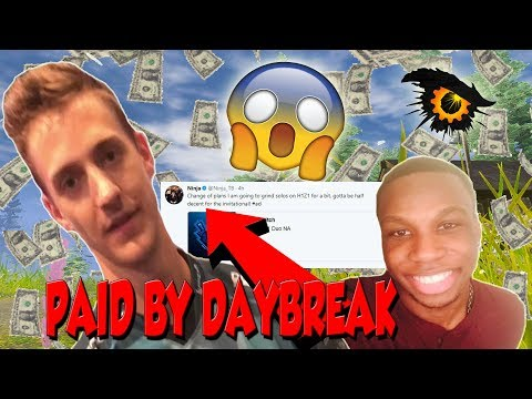 Ninja and OPscT Paid by Daybreak to Play H1Z1!!! - Paid to Stream the Game!!