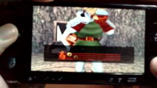 Ocarina Of Time on PSP Full Speed