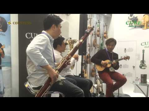 Mo Better Blues (ukulele ver.) / Min Trio / 2015 Cuke Ukulele Asia Tour / Shanghai Music China