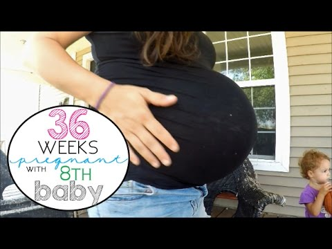36 Weeks Pregnant with 8th Baby