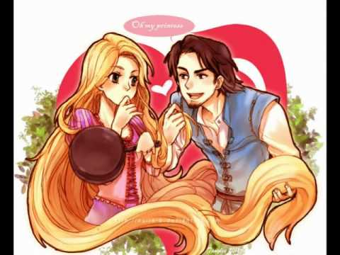 Rapunzel and Flynn/Eugene - Time After Time