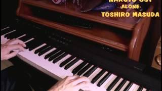 Naruto OST -Alone- Piano cover