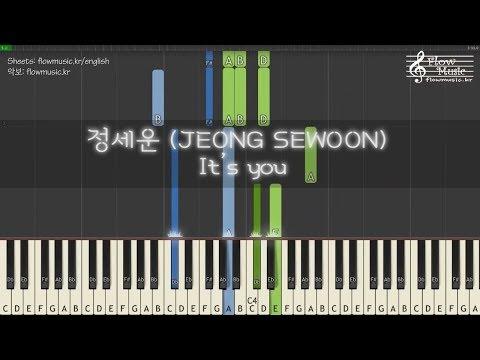 [김비서가 왜 그럴까 / What's Wrong With Secretary Kim OST] 정세운 (JEONG SEWOON) - It's You  Piano Tutorial