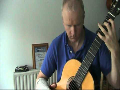 Landler - Johann Kaspar Mertz - Brian Farrell Guitar www.brianfarrell.eu