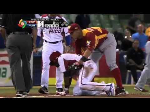 World Baseball Classic 2013: Out en el relevo de Figueroa ante Puerto Rico