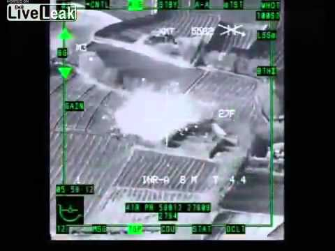 A-10's On Muslim Terrorists Over Afgahnistan, Pounding Down Evil