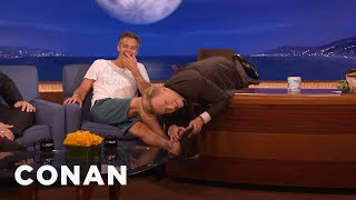 Timothy Olyphant's Casual Heat Wave Wardrobe  - CONAN on TBS
