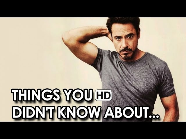 Things You Didn't Know About Robert Downey Jr. (2015) HD