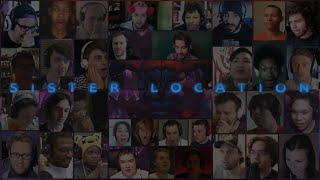 """Sister Location"" Trailer 1 By Scott Cawthon Massive Reaction Mashup"