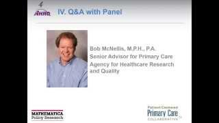 PCPCC Webinars Presents  Engaging Primary Care Practices in Quality Improvement