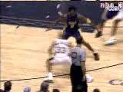 stephon marbury cross over on kobe,reverse on shaq