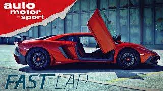 Lamborghini Aventador SV: Stiernacken mit Rinderwahnsinn - Fast Lap | auto motor und sport